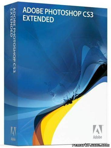 Скачать Adobe Photoshop CS3 Extended + Crack 2007 Shareware/English торрент